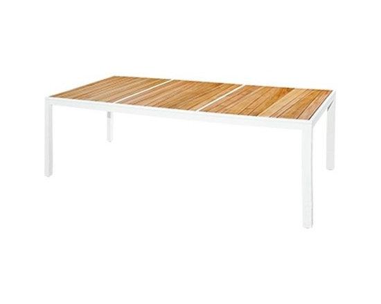 Mamagreen - Mamagreen | Allux Dining Table, Slats - Design by Vincent Cantaert & Barbara Widiningtias.