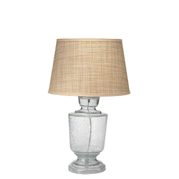 Jamie Young Co. Small Lafitte Table Lamp in Clear Glass traditional-table-lamps