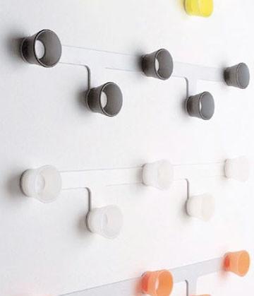 Big 5 Modern Coat Rack modern-wall-hooks