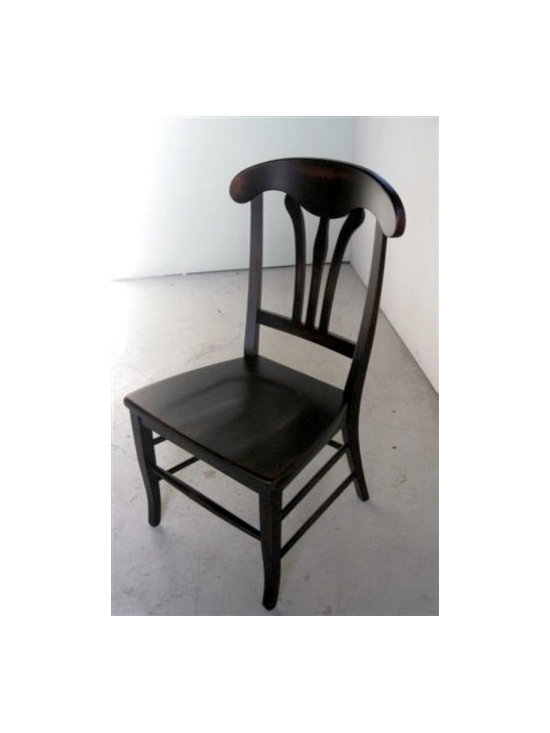 Cottage Style Dining Room Chairs - Made by http://www.ecustomfinishes.com