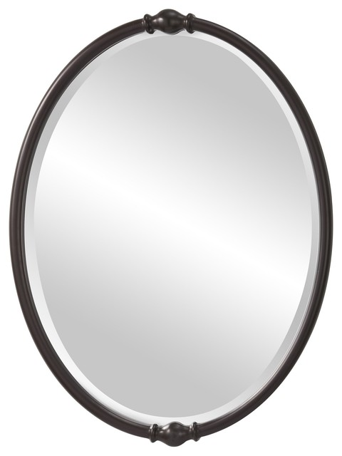 Murray Feiss Jackie Transitional Oval Mirror X-BRO9111RM transitional-mirrors