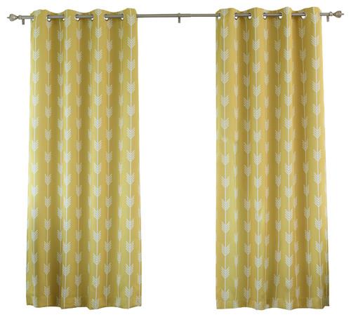 kitchen curtains on a rod, kitchen window treatment