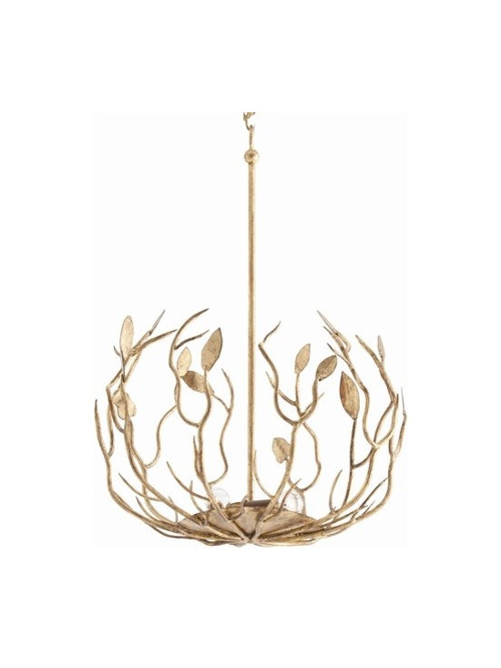 Arteriors Upton 5 Lights Iron Pendant - Upton 5 Lights Iron Pendant