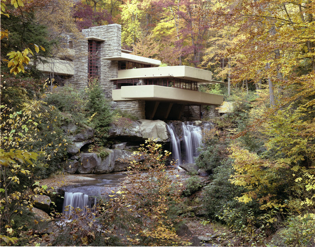 by Fallingwater