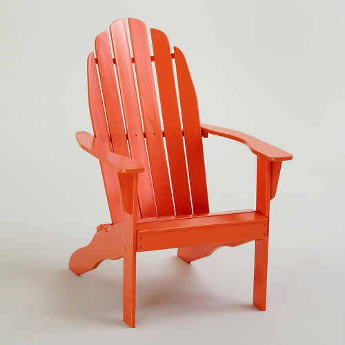 Spicy Orange Classic Adirondack Chair - traditional - outdoor ...