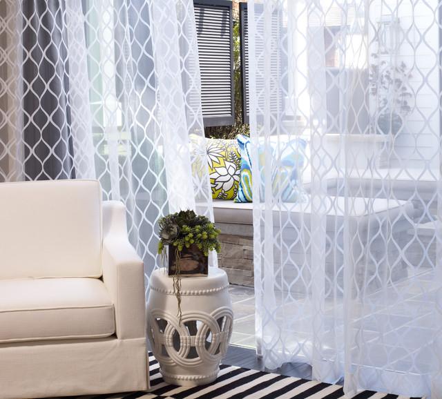 client photos bord de mer rideaux. Black Bedroom Furniture Sets. Home Design Ideas