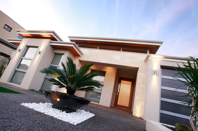 Finished Homes contemporary-exterior-elevation