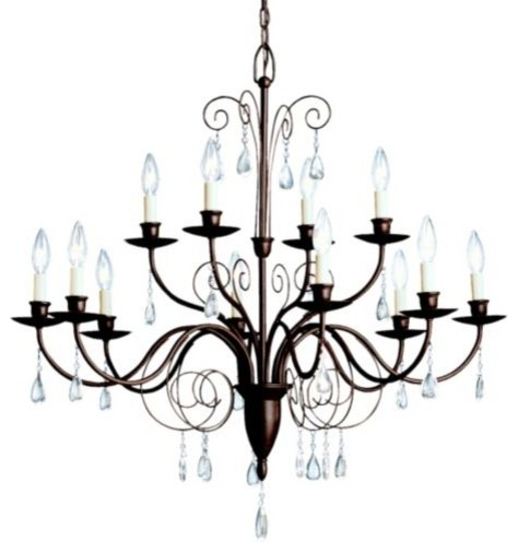 Barcelona 2-Tier Chandelier by Kichler modern-chandeliers