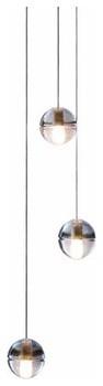 14.3 Three Pendant Chandelier modern-chandeliers