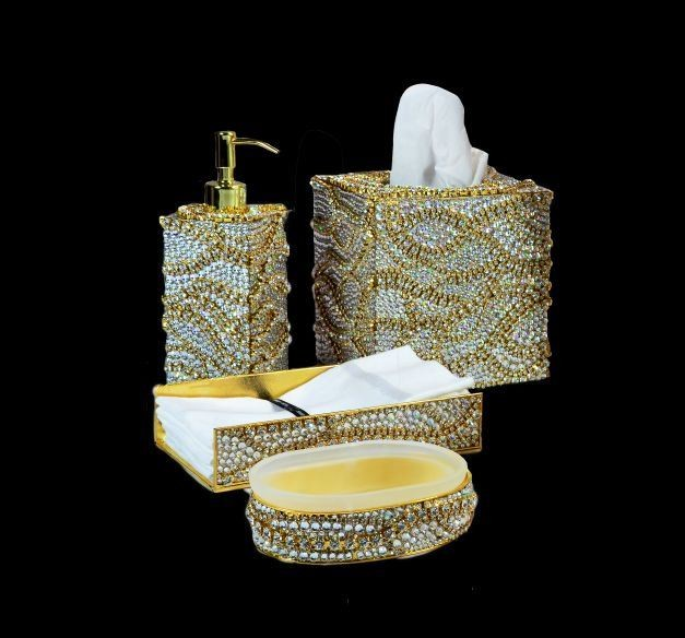 Amp Up Your Bathroom With Exquisite Bath Accessories contemporary-bath ...