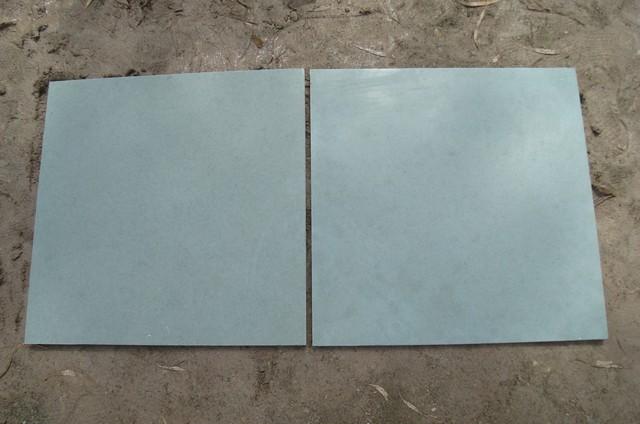K. blue limestone Tile traditional-tile