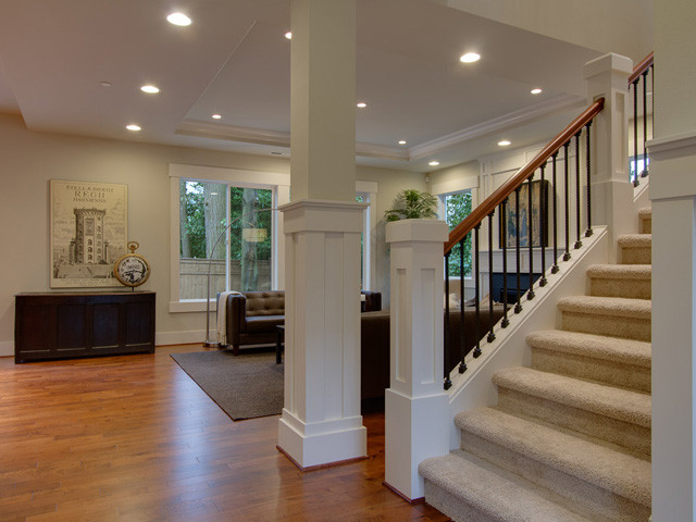 Staircase, The Venice floor plan by JayMarc Homes modern-staircase