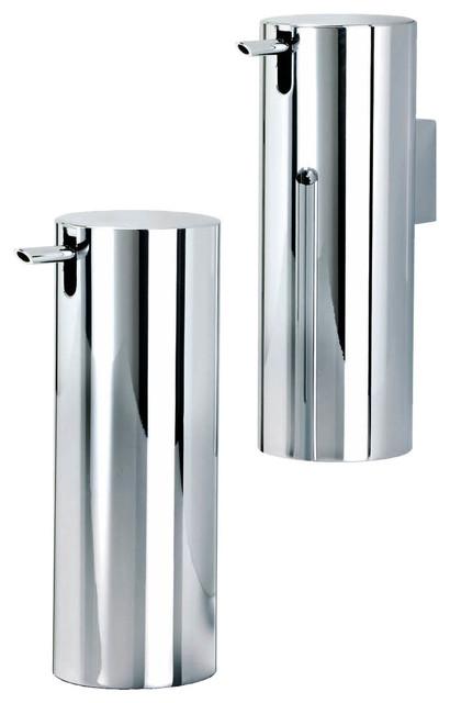 Houzz home design decorating and renovation ideas and for Chrome bathroom accessories