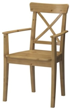 INGOLF Chair with armrests modern-dining-chairs