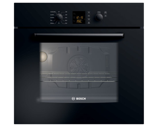 "Bosch 30"" 300 Series Single Wall Oven With Convection, Black 