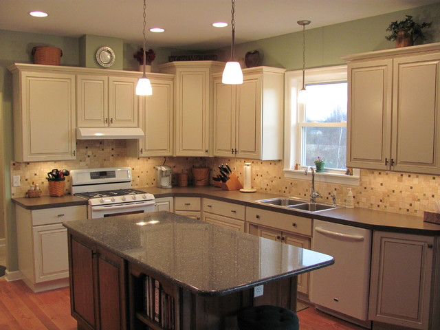 Refacing Oak Kitchen Cabinets To White