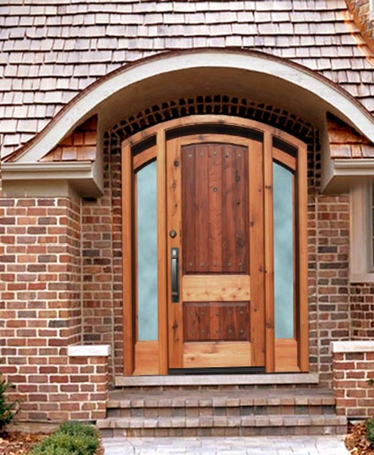 Custom Mahogany Doors asian