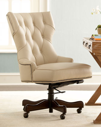 Conroy Leather Office Chair traditional-office-chairs