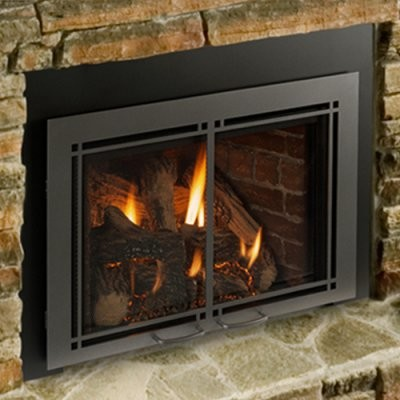 Majestic Triumph Direct Vent Gas Fireplace Insert Modern Gas Ranges And Electric Ranges By