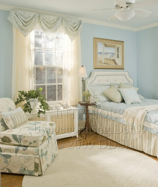 Fun with Windows traditional bedroom