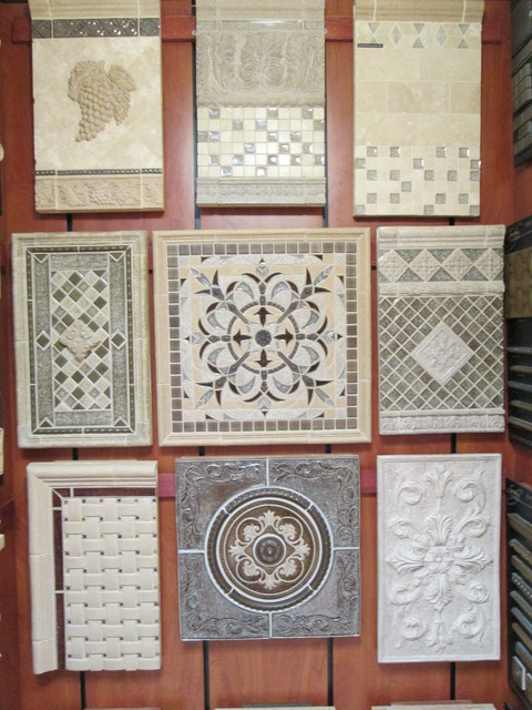 medallions backsplash focal concepts tile sonoma medallions backsplash