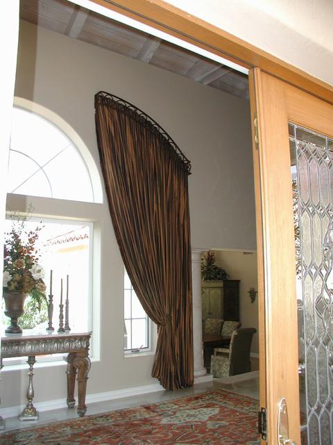 Custom Draperies eclectic-window-treatments