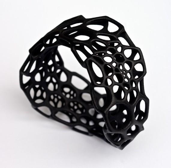 Wave Bracelet by Nervoussystem modern-artwork
