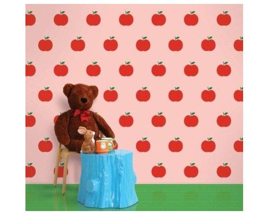 Wallcandy Arts Apple Pink/Red - Wallcandy Arts Apple Pink/Red