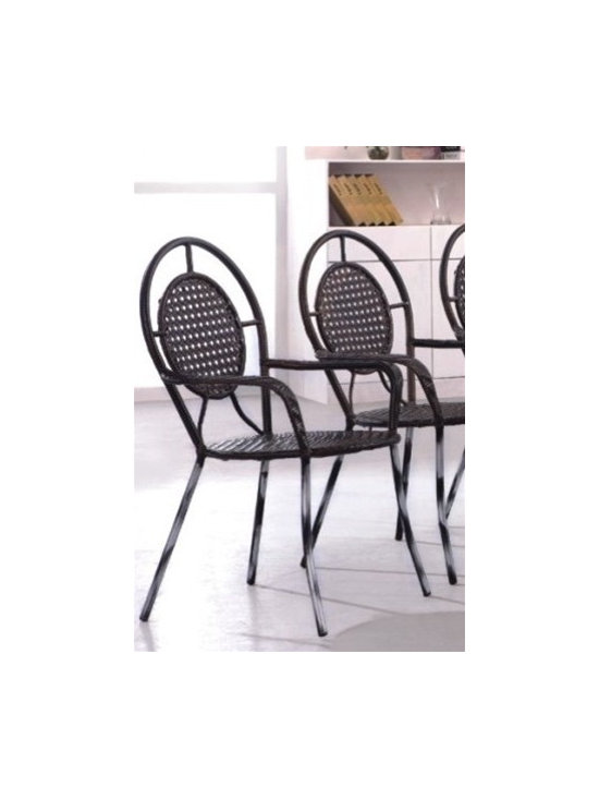 Rattan Patio Chair 426-SO - This rattan patio dining chair will instantly enhance any indoor or outdoor decor.