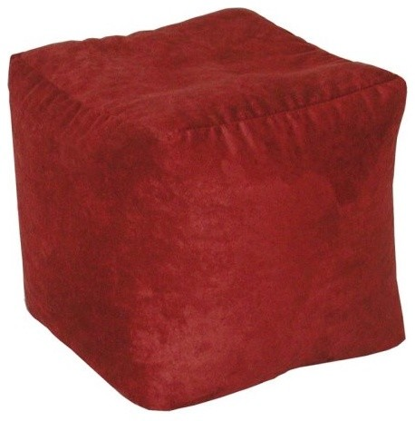 Urban Microfiber Cube Ottoman traditional ottomans and cubes