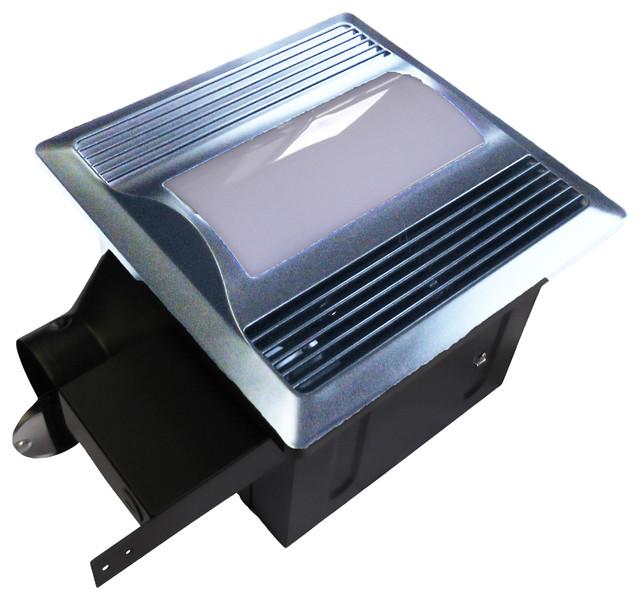 Aero Pure Fan SBF 80 L1SN Quiet Bathroom Ventilation Fan with Light/Nightlight - Contemporary ...