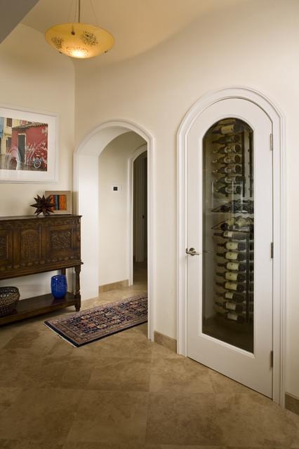 Wine Closet mediterranean