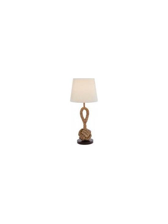 Woodland 67700 Attractive Metallic Rope Pier Lamp, Milky White Shade -