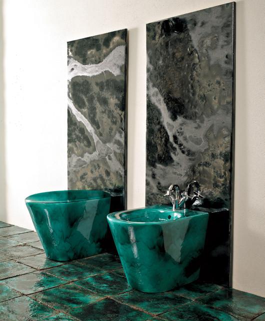 Franco Pecchioli - Italian Art Tile, Accessories bathroom-sinks