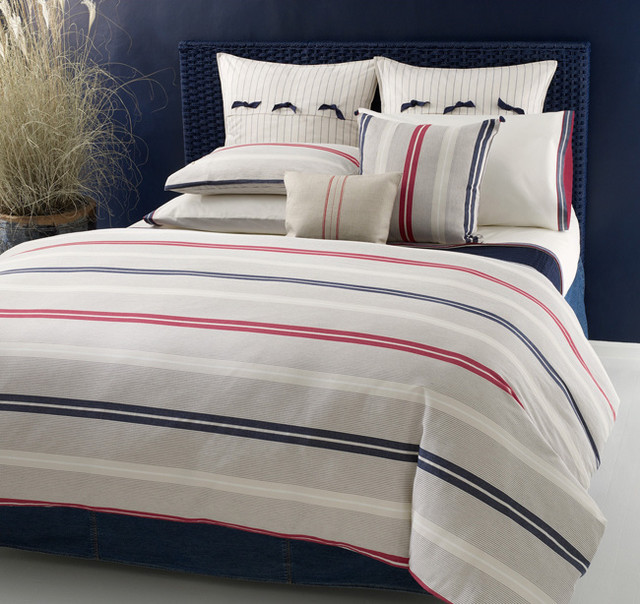 tommy hilfiger newport bay comforter set contemporain couvre lit et parure couvre lit par. Black Bedroom Furniture Sets. Home Design Ideas
