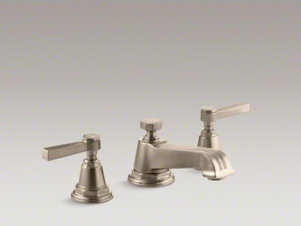 ... bathroom sink faucet with lever handles contemporary-bathroom-sinks