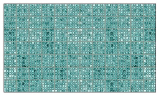 Faux Glass Tile, Teal/Gray Wallcoverings, Teal/Gray, Large Roll (52 Sq Ft), Casa contemporary-wallpaper