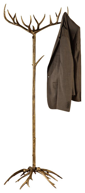 Antler Coat Rack - Contemporary - Coatracks And Umbrella Stands - by Shop Chimney