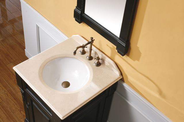 "24"" Lugano Single Bath Vanity - Antique Black traditional-bathroom-vanities-and-sink-consoles"