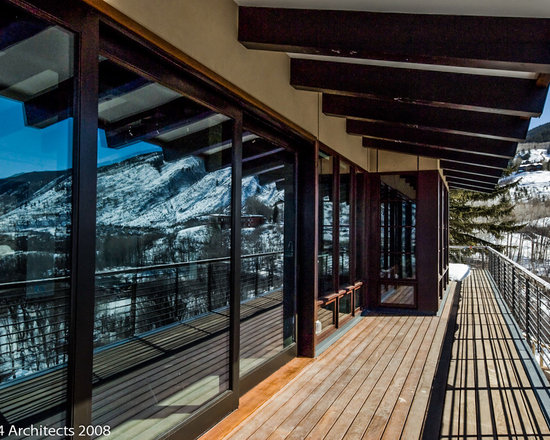 Quantum Windows & Doors | Zone 4 Architects - Zone 4 Architects | Aspen Contractors | Aspen, CO | Quantum Lift & Slide Doors