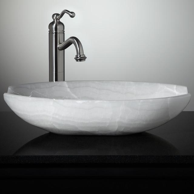 New Stone Vessel Sinks Eclectic Bathroom Sinks