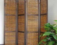 Bangkok Folding Screen Room Divider asian-screens-and-wall-dividers