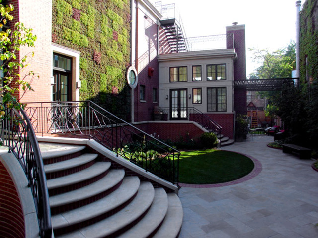 LG Construction and Development Exterior Spaces modern-exterior
