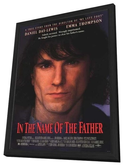 In the Name of the Father 11 x 17 Movie Poster - Style A - in Deluxe Wood Frame prints-and-posters