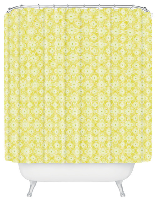 Yellow black shower curtain products on houzz