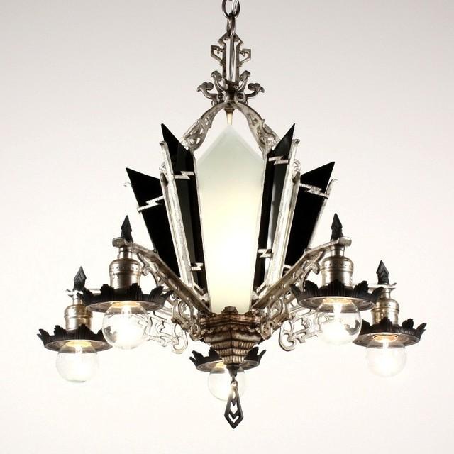 Antique Art Deco Lighting