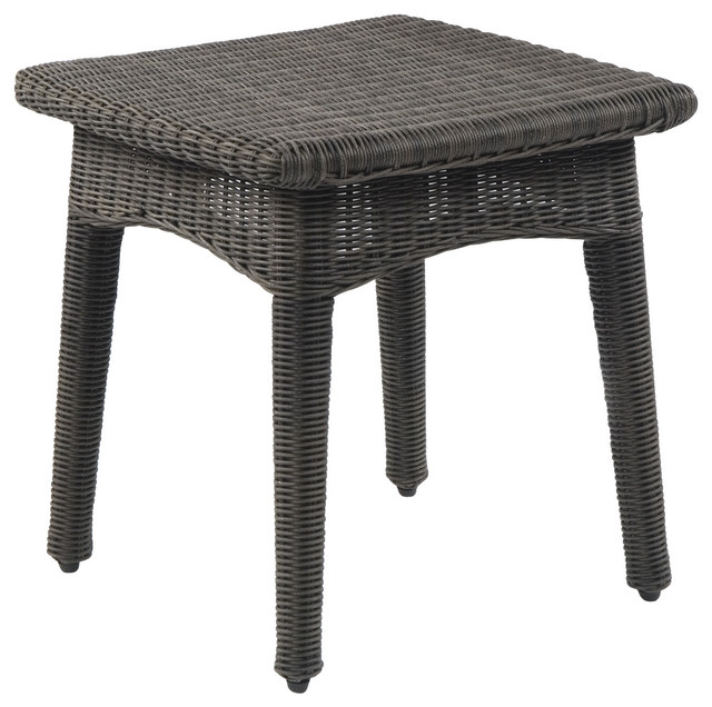 Culebra Side Table - By Kingsley Bate traditional-outdoor-tables