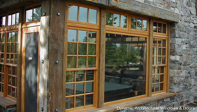 Rustic Double Hung Windows Rustic Windows Vancouver