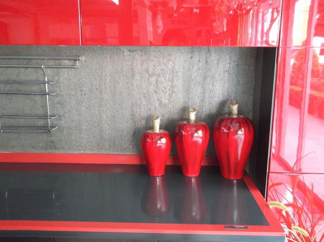 cocina de exhibición modern