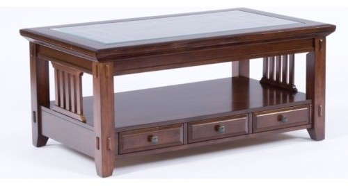 Broyhill Furniture Vantana Rectangular Cocktail Table And End Table Set 4986 Traditional